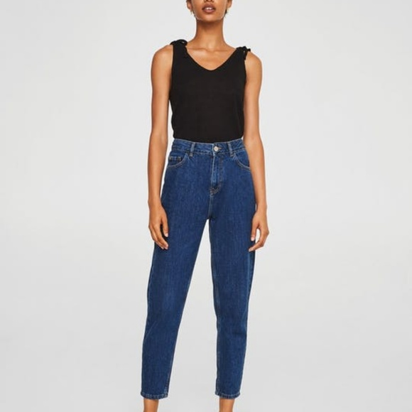 7a4908f02e Mango Mom Relaxed Jeans